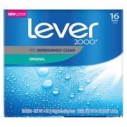 Lever 2000 Original Bars, 16 ct./4 oz.