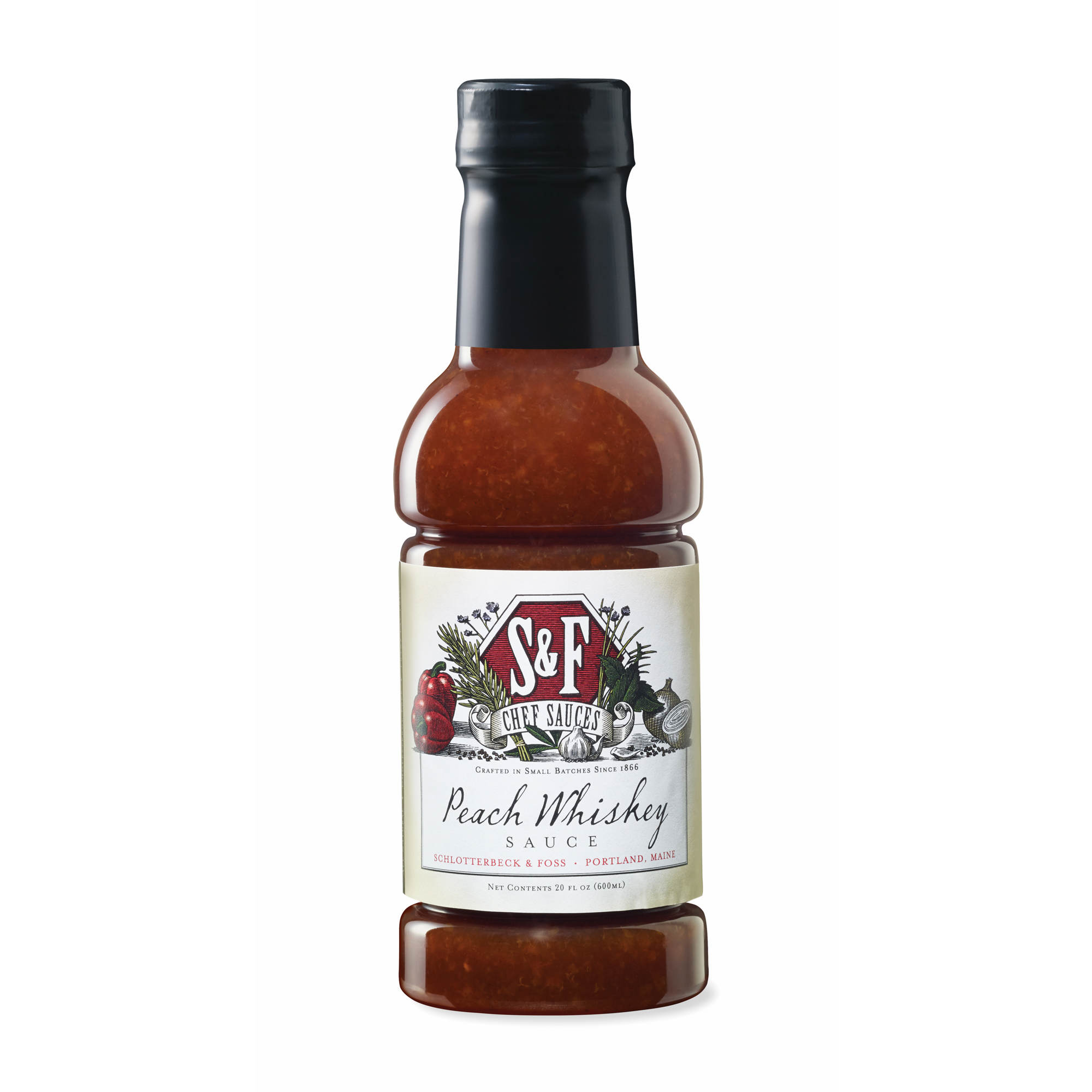 S&F Peach Whiskey Sauce, 20 oz. - BJ's Wholesale Club