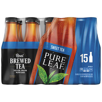 Pure Leaf Real Brewed Sweet Tea, 15 pk./18.5 oz.