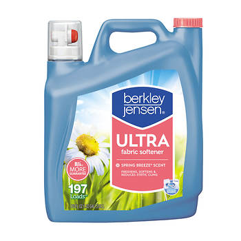 Berkley Jensen Liquid Fabric Softener, 170 oz.