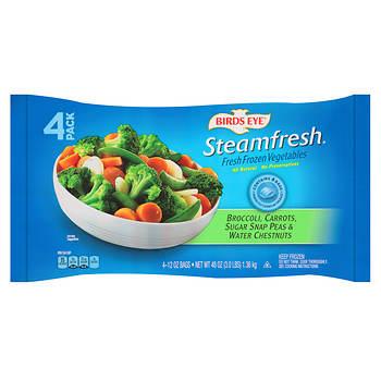 Birds Eye Steamfresh Fresh-Frozen Vegetables, 4 pk./12 oz.
