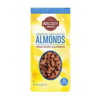 Wellsley Farms Almonds, 40 oz.