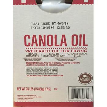 Wellsley Farms Canola Oil, 35 lbs.