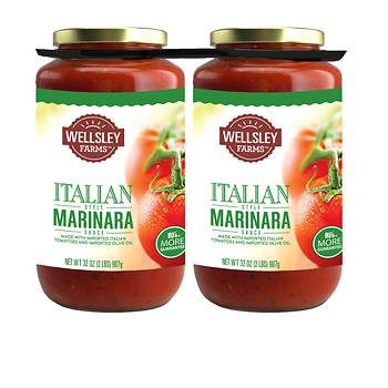 Wellsley Farms Marinara Sauce, 2 pk./32 oz.
