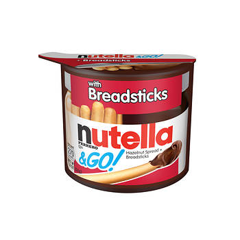 Ferrero Nutella & Go Hazelnut Spread with Breadsticks, 12 pk.