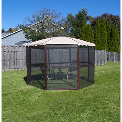"Casita Chestnut 11'1"" Round Screenhouse"