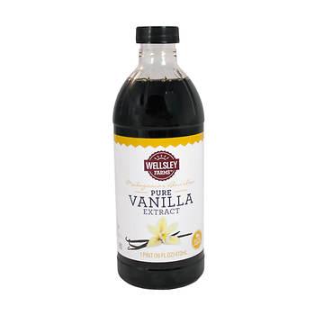 Wellsley Farms Pure Vanilla Extract, 16 oz.