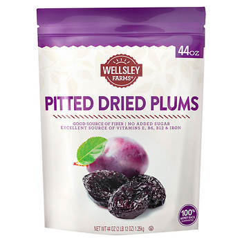 Wellsley Farms Gourmet Dried California Plums, 44 oz.