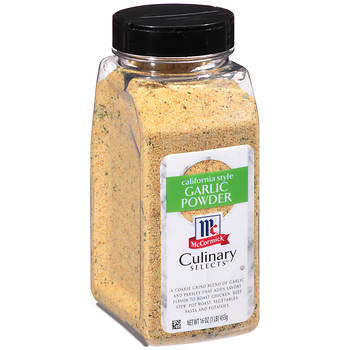 McCormick Culinary Selects California-Style Garlic Powder, 16 oz.