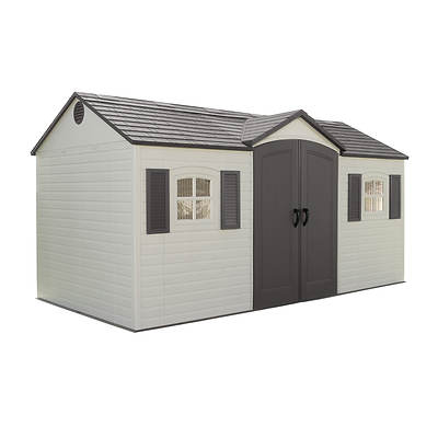 Lifetime 8' x 15' Garden Storage Shed