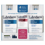 Lubriderm Daily Moisture Lotion, 2 pk./24 oz. with Advanced Therapy Lo