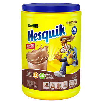 Nestle Nesquik Chocolate Powder, 41.97 oz.