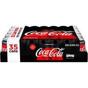 Coca-Cola Zero Cola, 35 pk./12 oz.