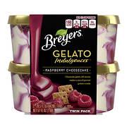 Breyers Indulgences Raspberry Cheesecake Gelato, 2 pk./28.5 oz.