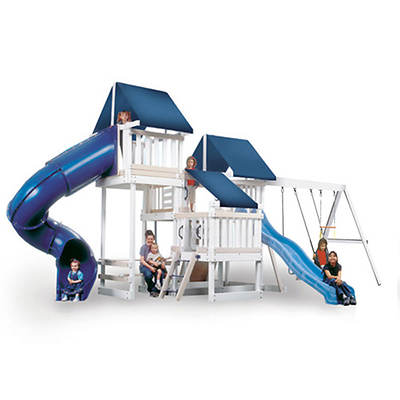 Congo Monkey Play 4 Maintenance-Free Swing Set