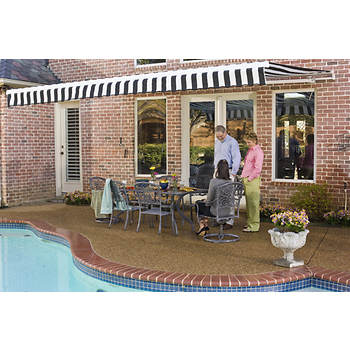 "Awntech Beauty-Mark 8' Maui Retractable Awning with 84"" Projection"