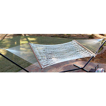 Castaway by Pawleys Island Cotton Rope Hammock