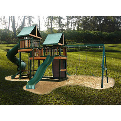 Congo Monkey Play 3 Maintenance-Free Swing Set