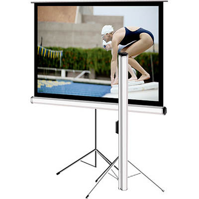 "Elite Screens Tripod Series 99"" Portable Projector Screen"