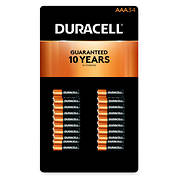 Duracell CopperTop AAA Batteries, 34 ct.