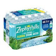 Zephyrhills 100% Natural Spring Water, 48 pk./8 oz.