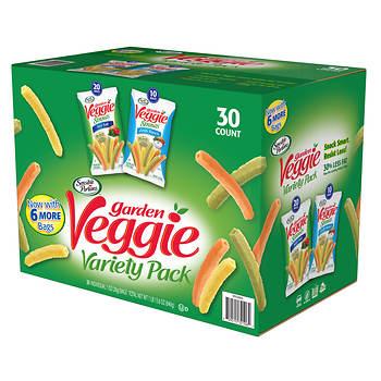 Sensible Portions Garden Veggie Straws Variety Pack, 30 ct.