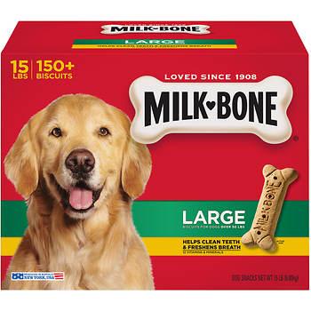 Milk-Bone Original Large Dog Biscuits, 14 lbs.