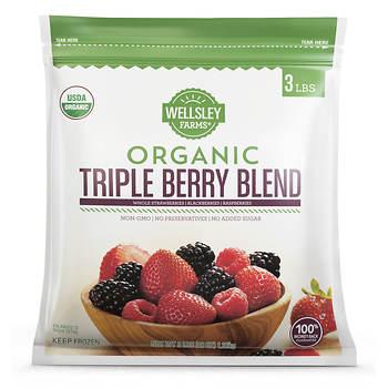Wellsley Farms Organic Triple Berry, 3 lbs.