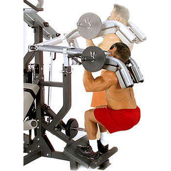 Body-Solid Leverage Squat Attachment for Body-Solid SBL460 Freeweight Leverage Gym