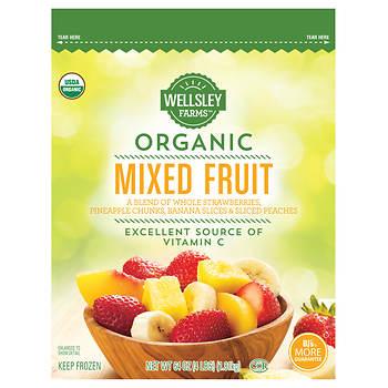 Wellsley Farms Organic Mixed Fruit, 4 lbs.