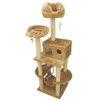 Majestic Pet Products 76 Bungalow Cat Tree