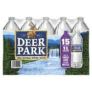 Deer Park 100% Natural Spring Water, 15 pk./1L