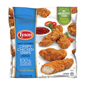 Tyson Crispy Chicken Strips, 3.5 lbs.