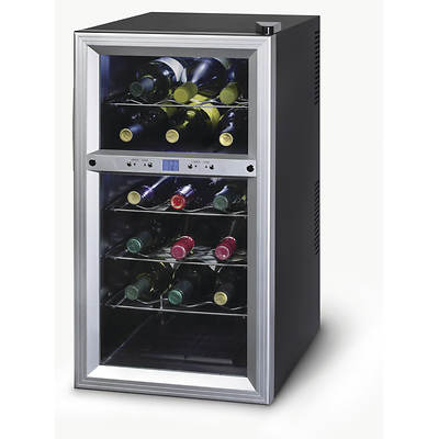 Kalorik Dual Zone 18-Bottle Wine Cooler