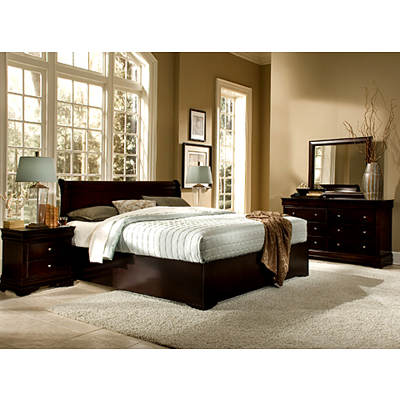Beverly King-Size 6-Piece Bedroom Set - Cappuccino