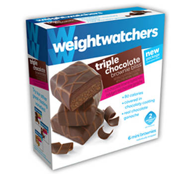 Weight Watchers Triple Chocolate Brownie Bliss, 20 ct.