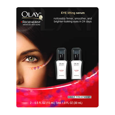 Olay Regenerist Eye-Lifting Serum, 0.5 Fl. Oz., 2-Pk