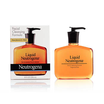 Neutrogena Liquid Transparent Facial Cleanser, 8 Fl. Oz., 4-Pk