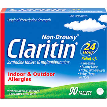 Claritin 10mg Allergy Tablets, 90 ct.