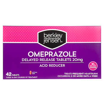 Berkley Jensen 20mg Omeprazole Acid Reducer Tablets, 3 pk./14 ct.
