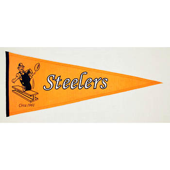 "Annin 13"" x 32"" Pittsburgh Steelers Pennant"