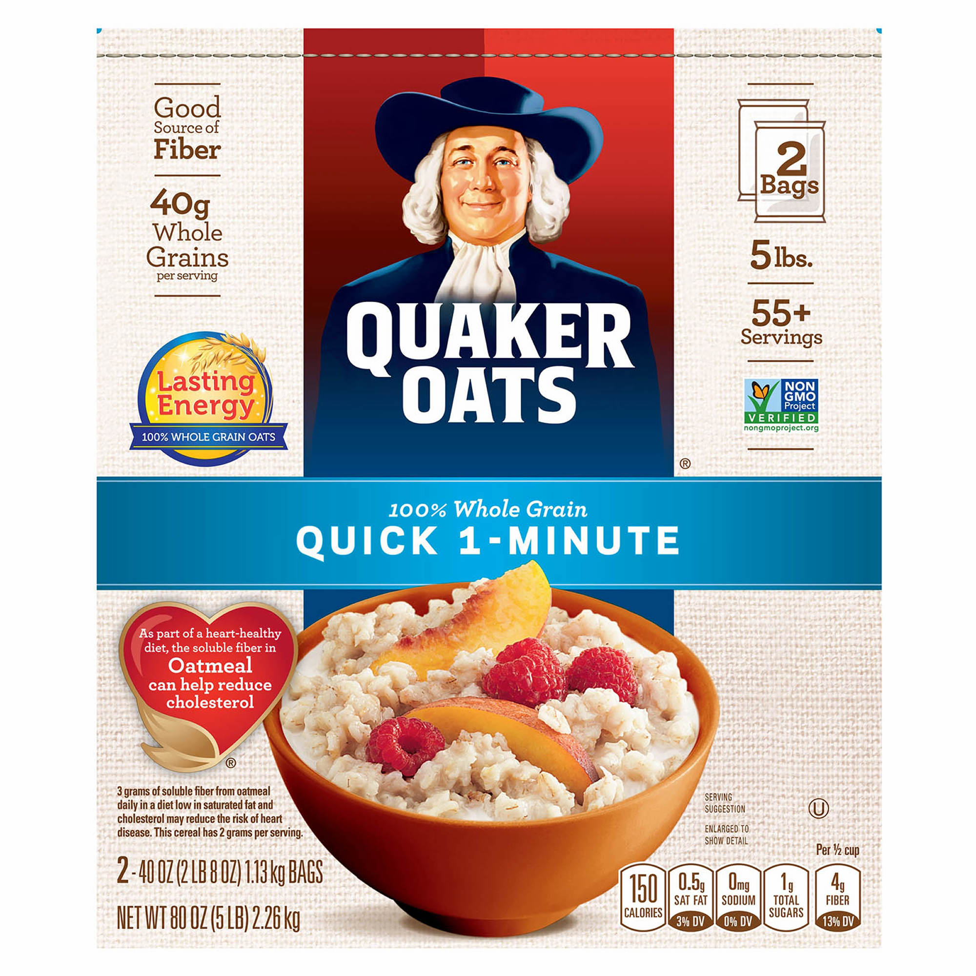 Quaker Old Fashioned Whole Grain Oats