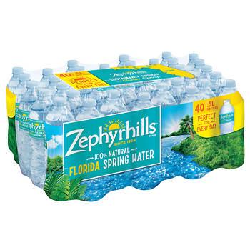 Zephyrhills Natural Spring Water, 40 pk./16.9 oz.