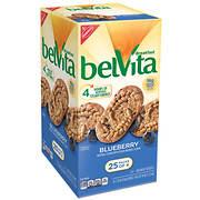 Belvita Blueberry Breakfast Biscuits, 25 ct.