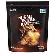 Sugar In The Raw Turbinado Cane Sugar, 6 lbs.