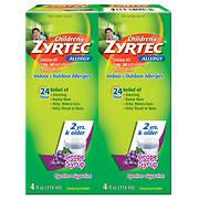 Zyrtec Children?s Grape Allergy Syrup, 2 pk./4 fl. oz.