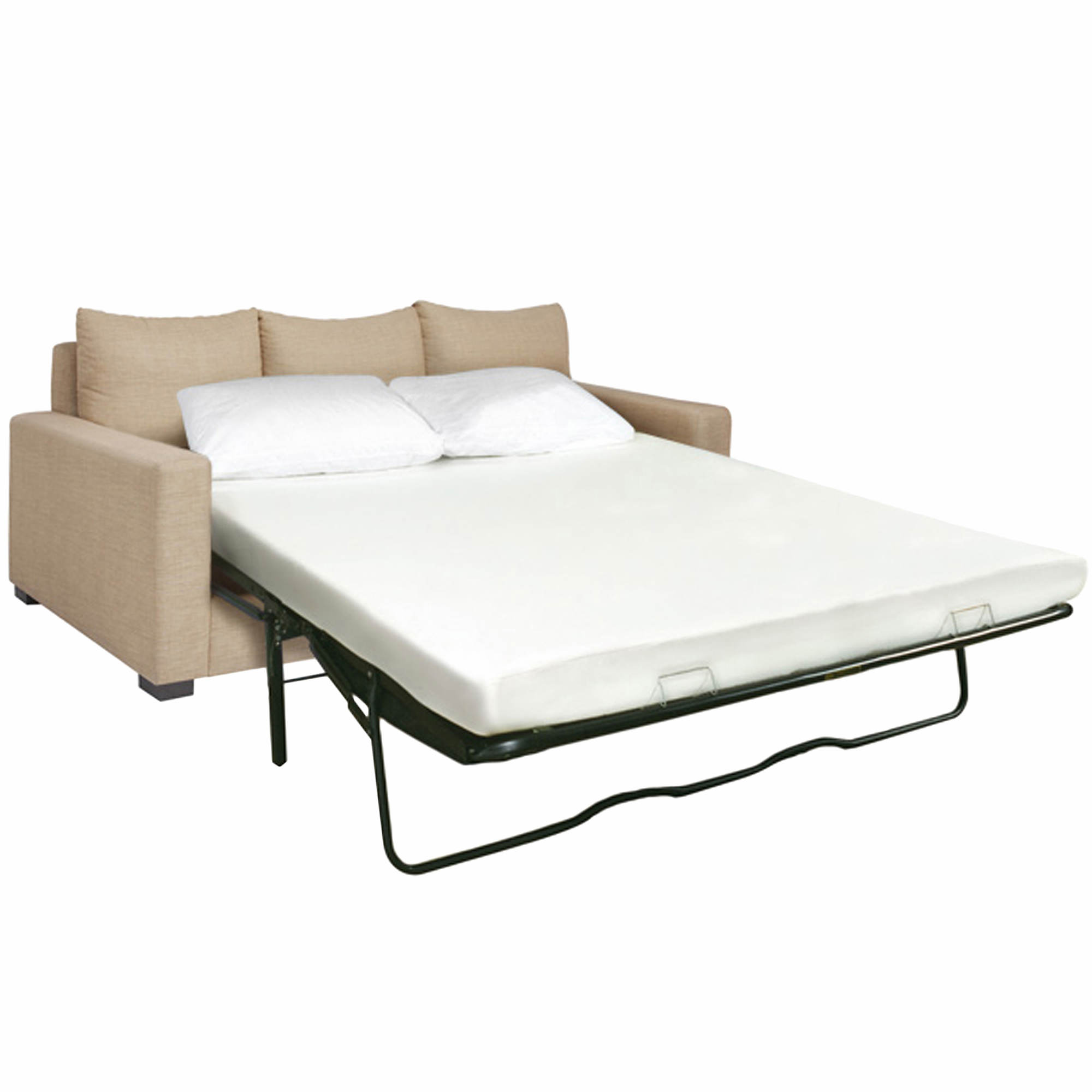 Cradlesoft axiom i queen size sleep sofa replacement for Sofa bed mattress replacement