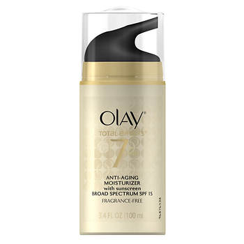 Olay Total Effects 7-in-1 Anti-Aging Moisturizer, 3.4 oz.