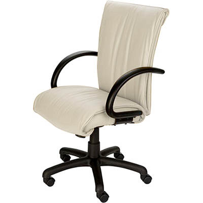 Mac Motion Chairs Zen Office Chair - Pearl/Black