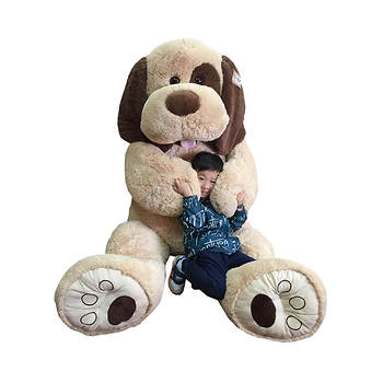 "Hug Fun 70"" Jumbo Plush Dog"